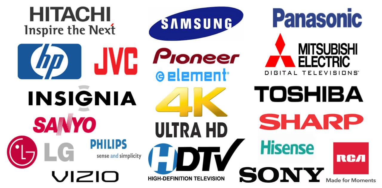 ETV Television Repair Brands
